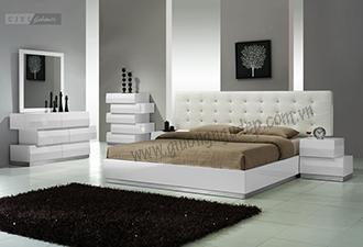 Giường ngủ bọc nệm 03