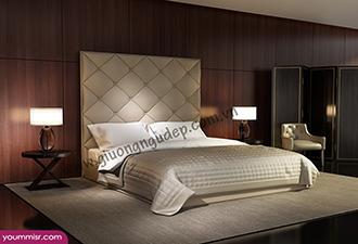 Giường ngủ bọc nệm 183
