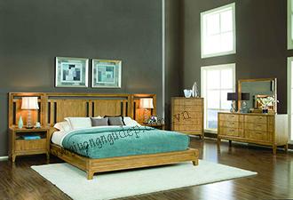 Giường gỗ tự nhiên 02