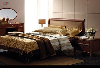 Giường gỗ tự nhiên 03
