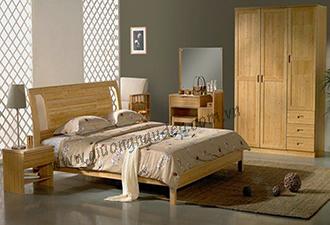 Giường gỗ tự nhiên 05