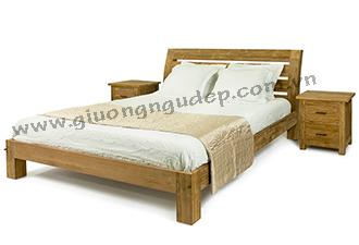 Giường gỗ tự nhiên 08