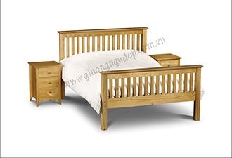 Giường gỗ tự nhiên 09