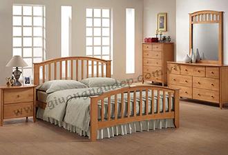 Giường gỗ tự nhiên 10