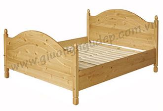 Giường gỗ tự nhiên 11