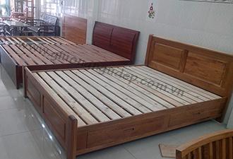 Giường gỗ tự nhiên 18