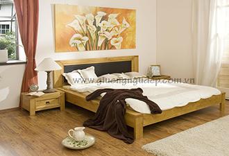 Giường gỗ tự nhiên 19