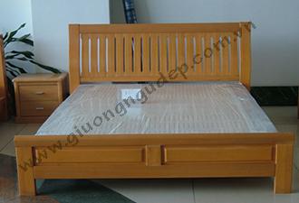 Giường gỗ tự nhiên 20