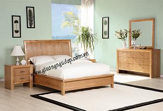 Giường gỗ tự nhiên 21