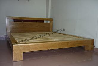 Giường gỗ tự nhiên 23