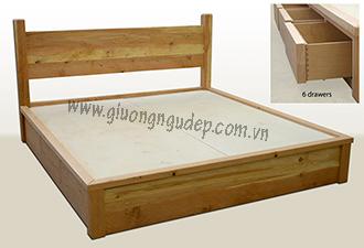 Giường gỗ tự nhiên 25
