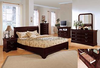 Giường gỗ tự nhiên 29