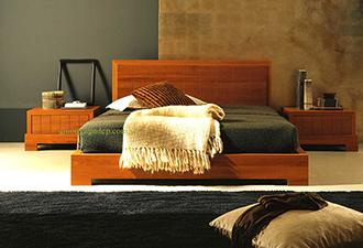 Giường gỗ tự nhiên 30