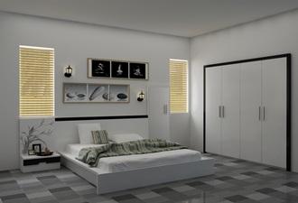 Giường ngủ hiện đại 01