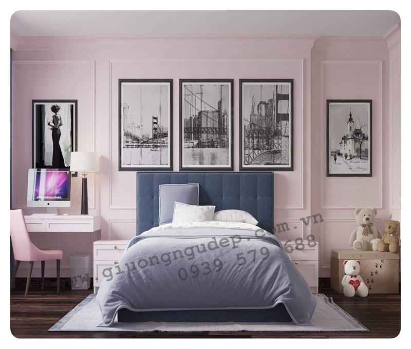 Giường ngủ bọc nệm cao cấp 207